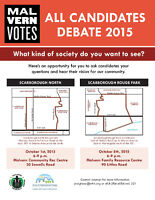 All Candidates Debate- Scarborough North/Scarborough Rouge River