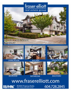 Stunning and meticulously maintained townhome!