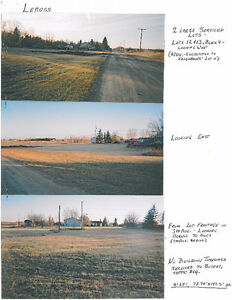 LEROSS, SASKATCHEWAN 3 Large Lots, services to border $4,500 (Le