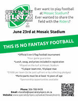 The Queen City Blitz Flag Football Tournament