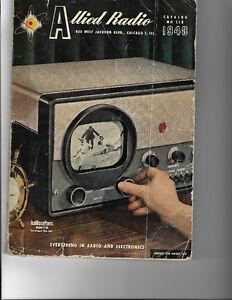 CATALOGUE VINTAGE ORIGINALE POUR 1948 ALLIED RADIO 168 PAGES Québec City Québec image 1