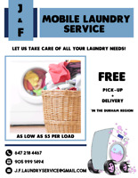 Laundry service at your request
