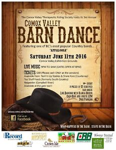 3rd Annual CV Barn Dance - hosted by the CV Therpeutic Riding So