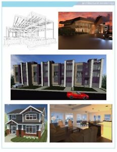I offer drafting & design services, architectural, 3D, etc