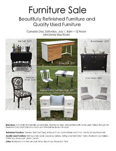 Beautiful Refinished & Quality Used Furniture For Sale