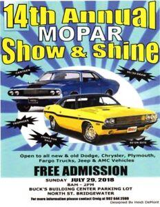 2018 Mopar show and shine