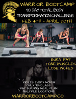 90 Day Total Body Transformation Challenge