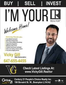 Full Time - Your Realtor Vicky Gill