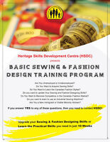 FALL 2016 SEWING / FASHION DESIGN CLASSES