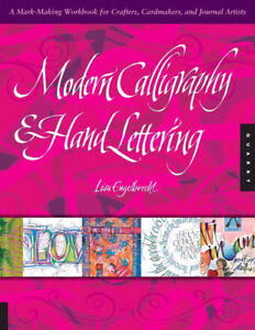 Livre, book : Modern Calligraphy and Hand Lettering