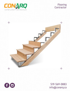 Save on your flooring/stairs project. Call CONARQ today!