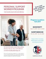 Personal Support Worker in Northbrook, ON by Loyalist College