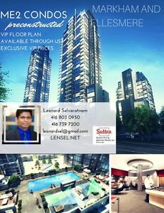 me2 pre constructed condos for sale ! VIP FLOOR PLAN AVAILABLE