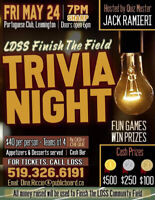 "LDSS ""Finish the Field"" Trivia Night"