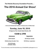 Petrolia Discovery Annual Classic Car Show