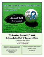 Sylvan Lake and District Victim Services Annual Golf Tournament