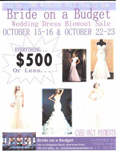 WEDDING DRESSES FOR SALE - ALL UNDER $500 Strathcona County Edmonton Area image 1
