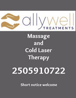 Massage and Cold Laser Therapy