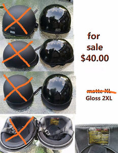 DOT approved Black Motorcycle Helmet XXL $ 40.00 for sale only