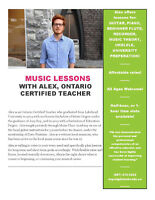 Music Lessons - Guitar, Piano, & More by Professional Musician