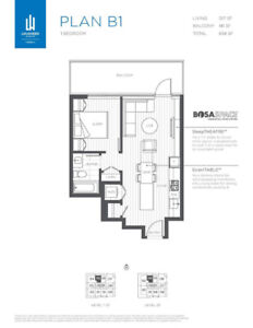 Only $791/sqft Assignment - Lougheed Heights By BOSA
