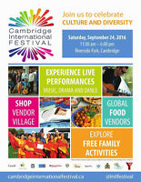 Cambridge International Festival 2016