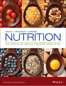 NUTR 1106 / 2211 - Nutrition Science and Applications Textbook