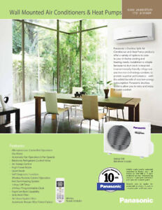 Montreal Air conditioning - Split wall units