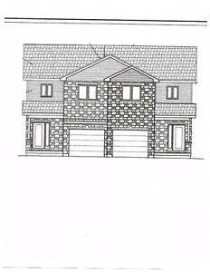 SEMI-DETACHED TWO STOREY HOME UNDER CONSTRUCTION IN LONG SAULT