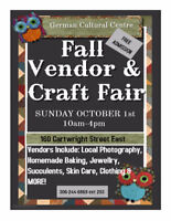 Fall Craft Show and Market