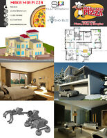 logo, poster, busniess Card and AutoCAD services.