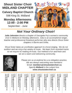 Love to Sing? We are Welcoming New Members!