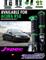 HSD MONOPRO ACURA RSX DC5 02-06 (modest front ride height drop)