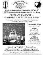 2017 Chickadee cat club Cat show