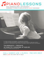 Fun, Personalized, Affordable Piano lessons