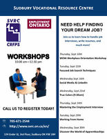 Employment Related Workshops