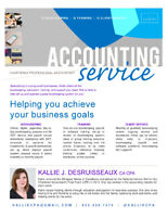 Bookkeeping, Training, & More: CPA Services Available