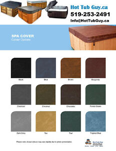 Custom Hot Tub Covers $385.00+Tax, Complete with Free Shipping Peterborough Peterborough Area image 1