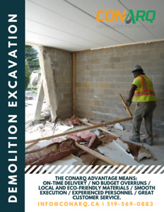 Excavation, Demolition, Grading …and much more services!
