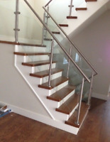 Stairs, staining, railings, recapping