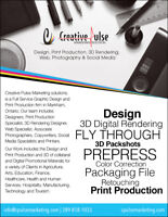 Graphic Design / 3D/ Web / Print Production