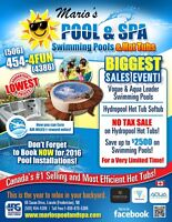Swimming Pool Huge Sale - At Mario's Pool and SPA
