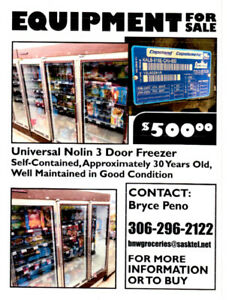 3 door commercial freezer for sale
