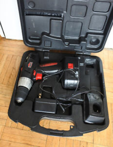JobMate Cordless Drill, 18 V, battery, charger & case