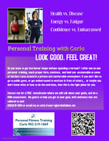 Personal Fitness Training / Cole Harbour