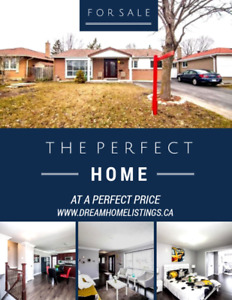 Fully Upgraded Beautiful Detached House For Sale Rental Basement