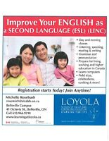 English as a Second Language (ESL) and LINC classes