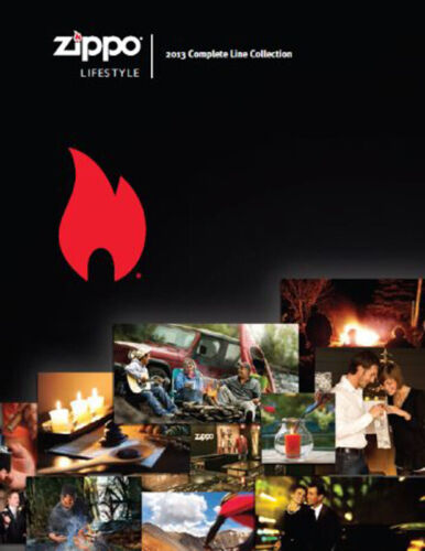 Zippo 2013 Complete Line Lighter Collection Product Price Catalog Book