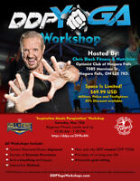 "DDPYOGA ""Inspiration Meets Perspiration"" Workshop"