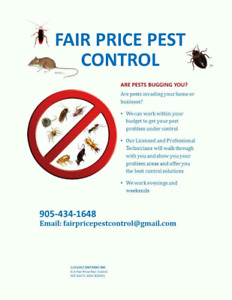 Having Pest issues ?